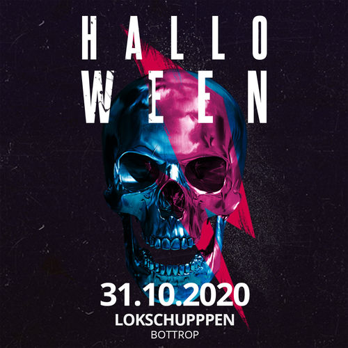 BLIND BIRD-Ticket - Halloween - 31.10.2020 - Lokschuppen Bottrop