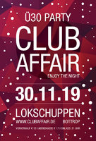 30.11.19 | CLUBAFFAIR